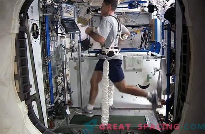 Running in space is a real challenge