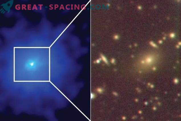 A dispersed galactic cluster hiding in sight