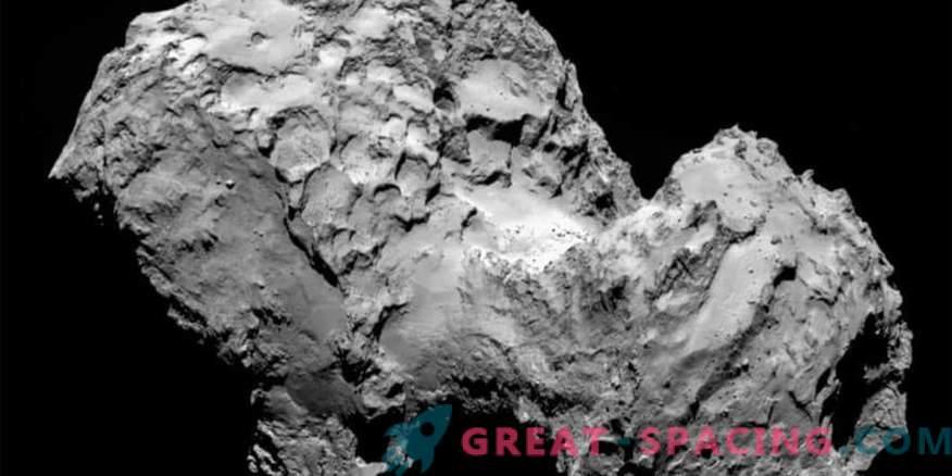 Oxygen secretion of comets