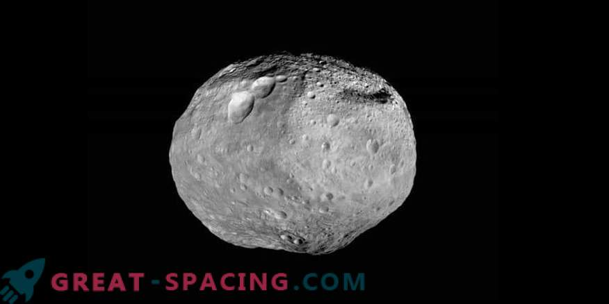 Vesta is the largest and brightest asteroid of the Solar System