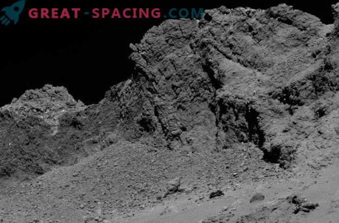 Rosette probe makes a controlled accident on its comet