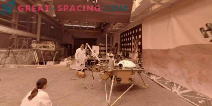 Tour of the test lab of the Martian apparatus