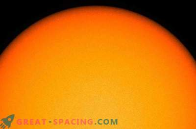 Where are the sunspots?