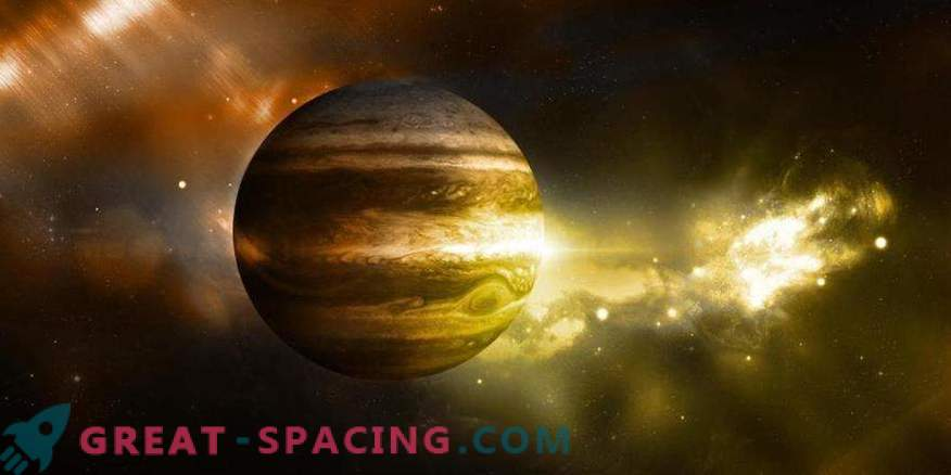 Living conditions can be hidden inside Jupiter