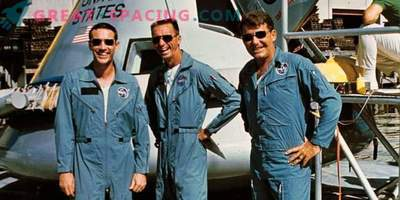 Apollo 7 crew training
