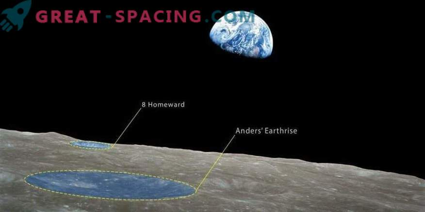 Lunar craters named after Apollo 8