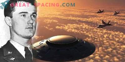 Could an unidentified object shoot down a fighter in 1948. Opinion ufologov
