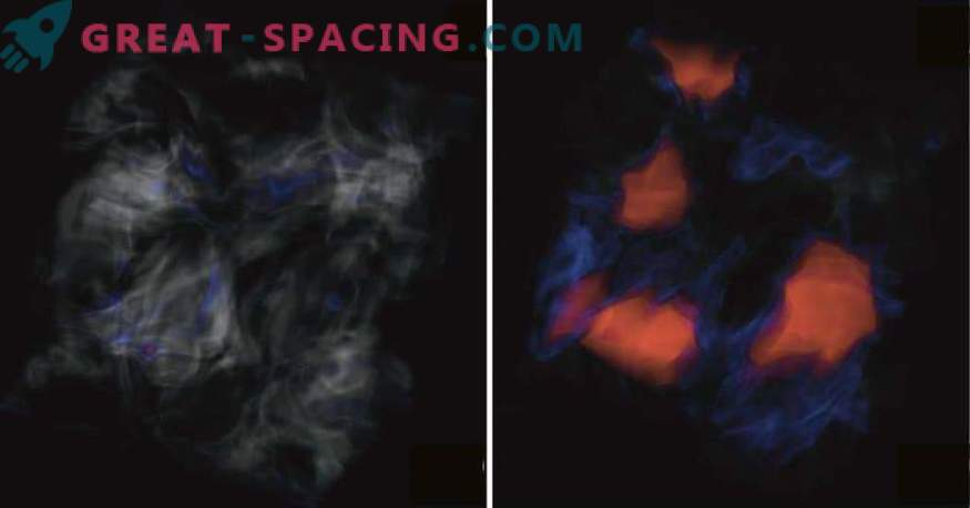 Chaos in the clouds of stellar birth. What is wrong with the magnetic waves?