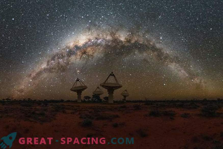 The Australian telescope nearly doubles the number of mysterious fast radio bursts
