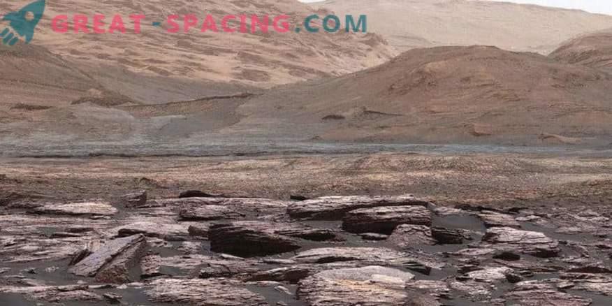 Curiosity discovered strange purple rocks on Mars