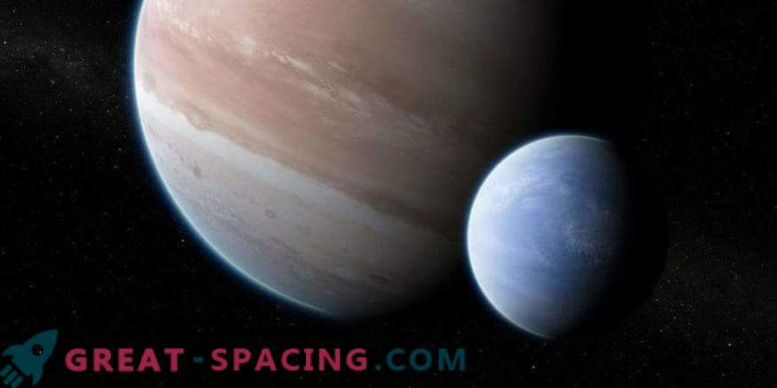 The first convincing evidence of the moon outside the solar system
