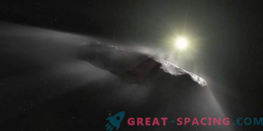 Were there any artificial signals from Oumuamua?