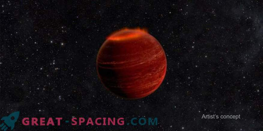 WASP found a brown dwarf in dynamic tide mode