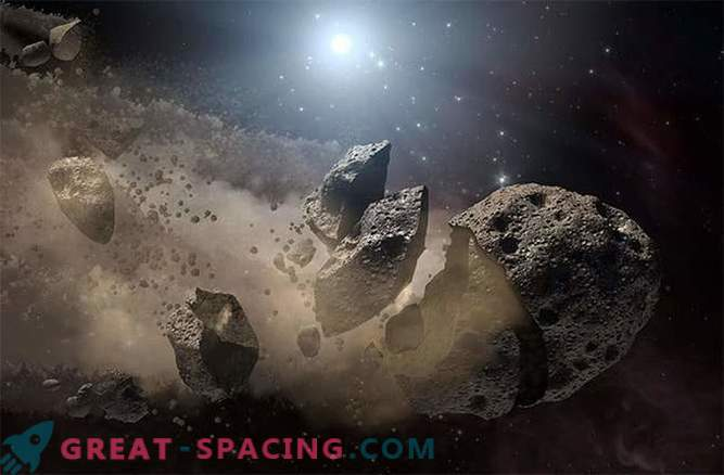 Asteroids are subject to thermal fatigue and defragmentation