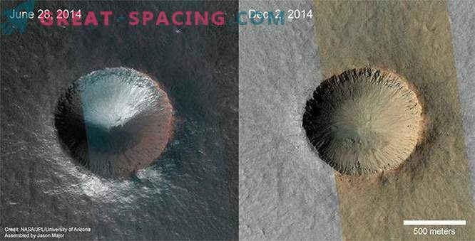 A close inspection of the spacecraft detected changes on Mars
