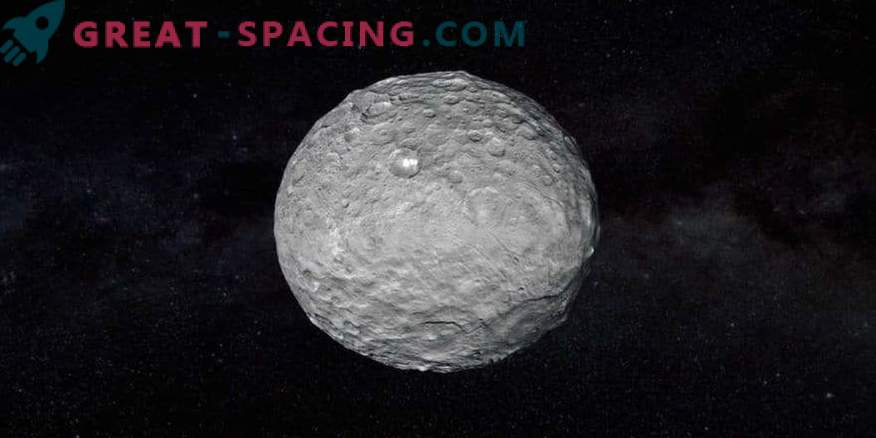 A single volcano of Ceres? What happened to the others?