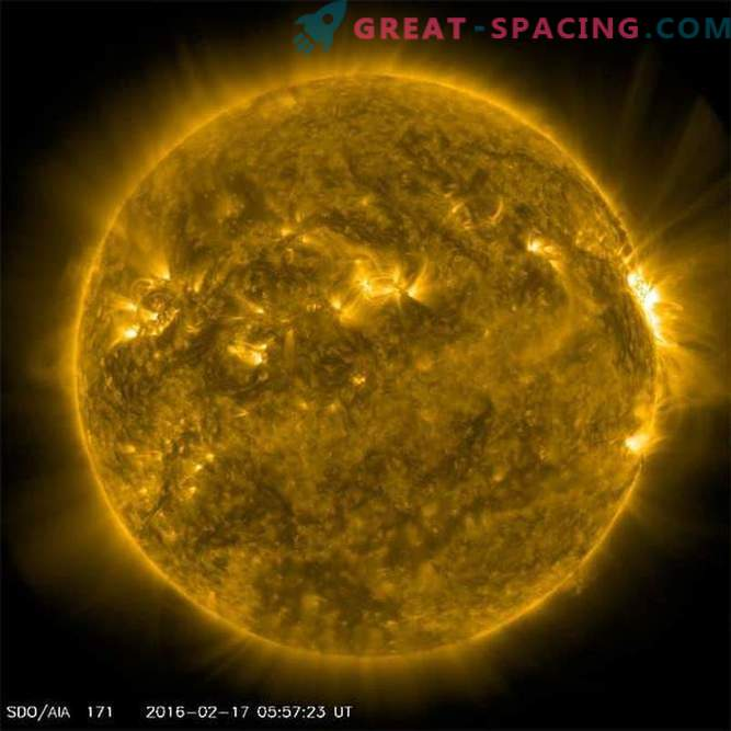 Our hard Sun: 12 months of explosive activity