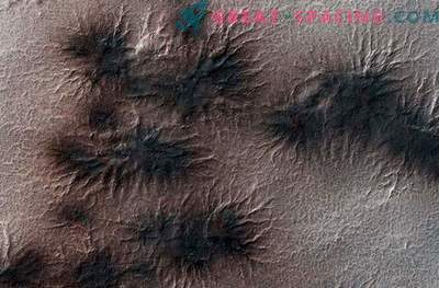 "Astronomers are waiting for ""spiders"" on the surface of Pluto."