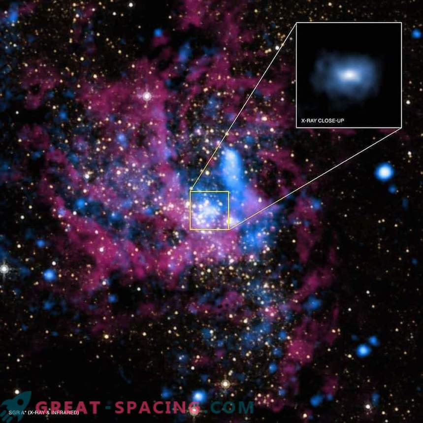 Supermassive black hole or