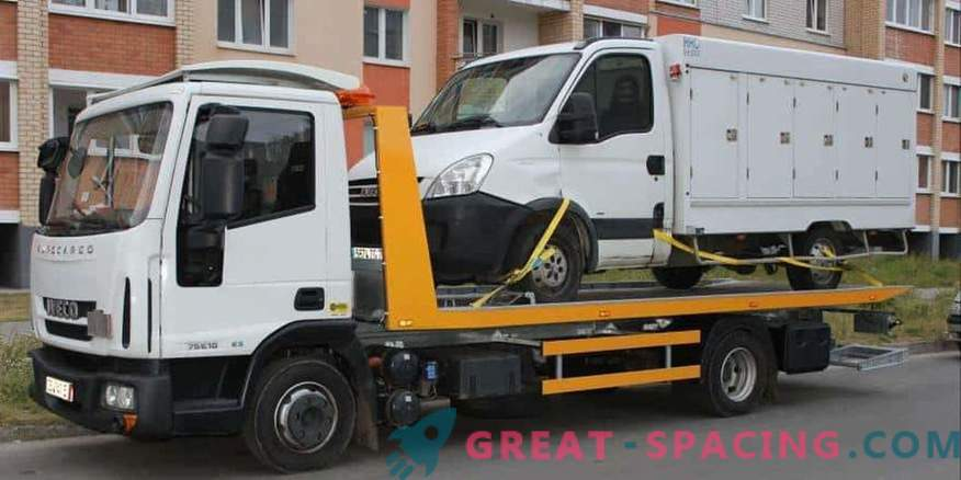 Quick and easy call a tow truck in Nizhny Novgorod