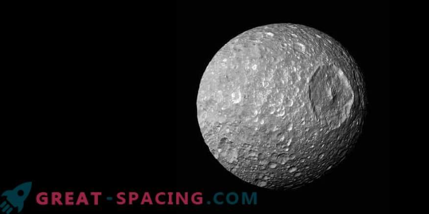 Moon Mimas - Saturn's