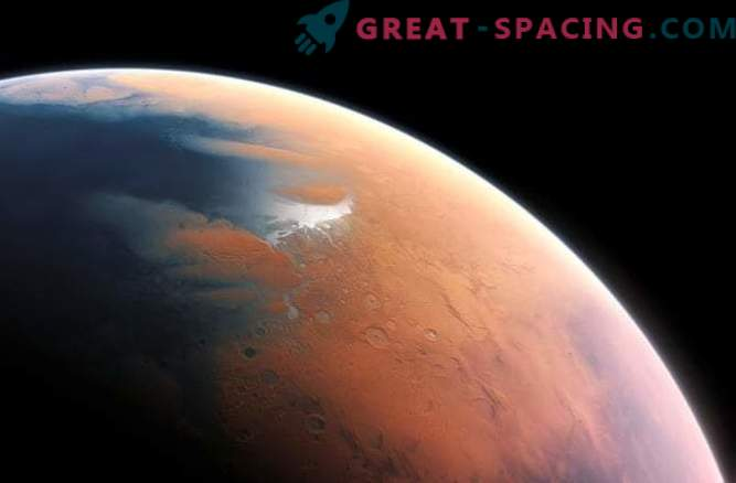 Mars is emerging from the Ice Age