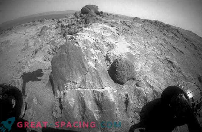 Mars Rover Opportunity Discovered Strange Martian Stones