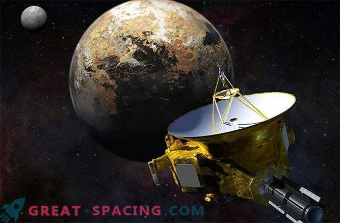 New horizons are ready to break through the system of Pluto.