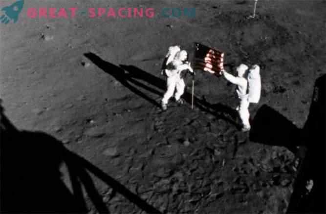46 years ago, people landed on the moon.