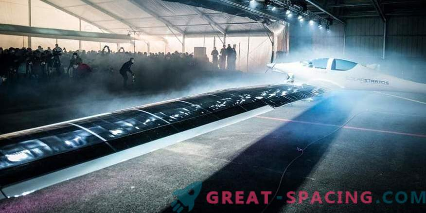 In Switzerland, presented a stratospheric solar plane