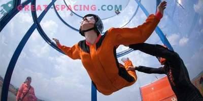 Give yourself the feeling of flying