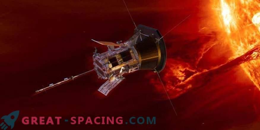 Solar probe Parker flies Venus