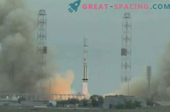 Russian Proton rocket failed during satellite launch