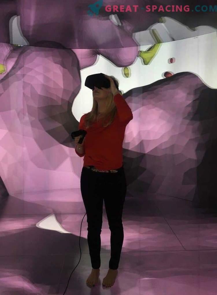 Virtual tour inside the exploding star