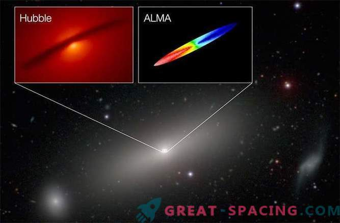 ALMA measured the black hole mass with unprecedented accuracy
