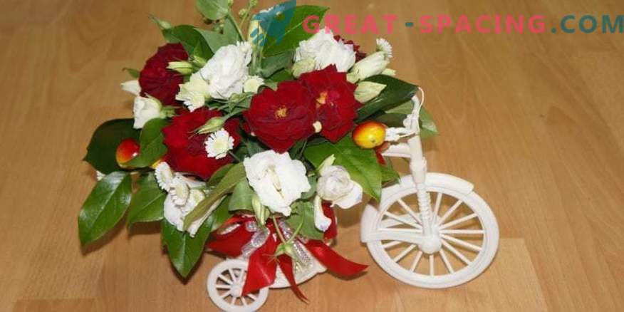"""Flower arrangements with delivery: what is the """"trick"""" of such a service?"""