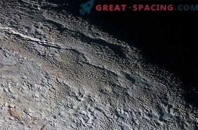 The mysterious Pluto tour: a strange landscape resembling snake skin