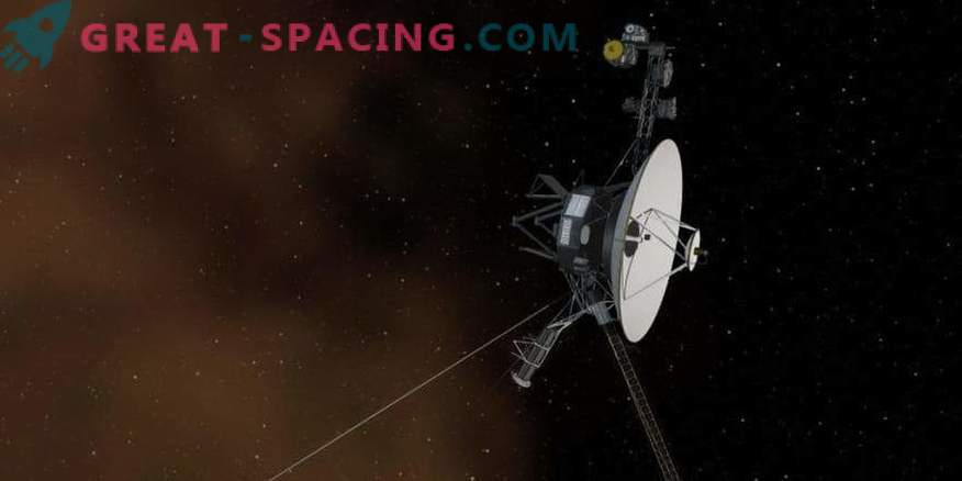 We celebrate the 40th anniversary of Voyager-1