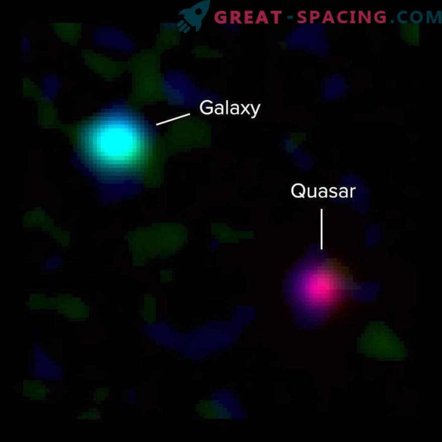 Go back in time to look at the shape of ancient galaxies