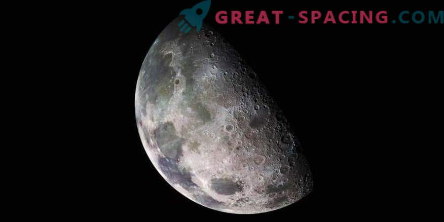 What are lunar seas and was there water in them