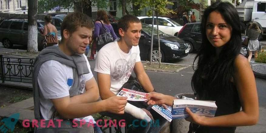 Distribution of leaflets