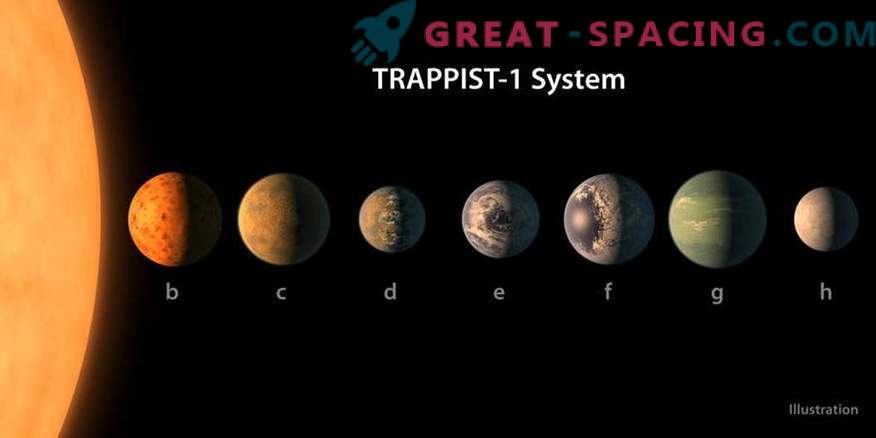 Can the TRAPPIST-1 planets have giant sisters?