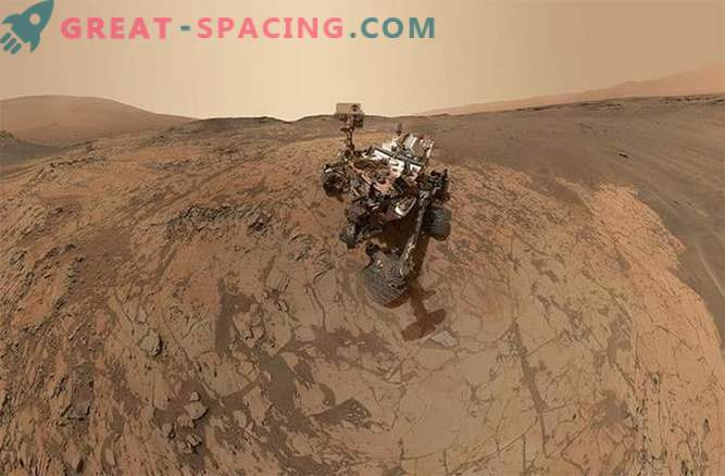 """Curiosity made a new """"selfie"""" on Mars"""