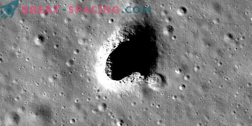 Potential habitat on the moon