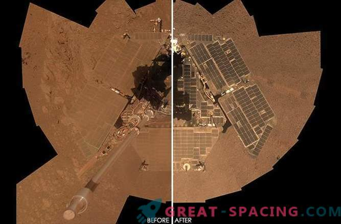 Opportunity: an amazing self-cleaning rover