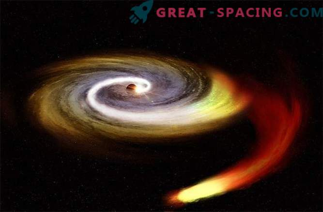 Has the mysterious object collided with our black hole?