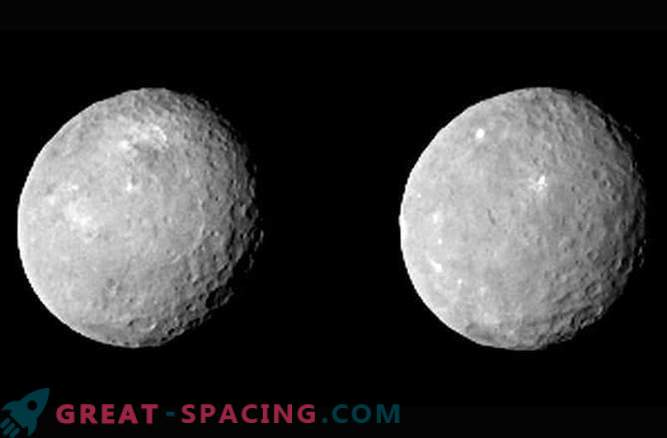 New images of the surface of the dwarf planet Ceres
