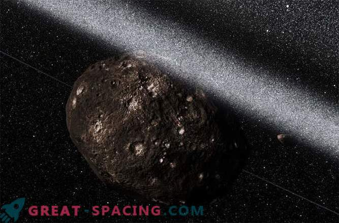 How the rings were discovered in an asteroid. Photo
