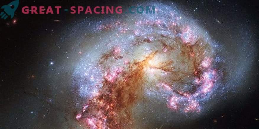 Organic material found in Antenna Galaxy
