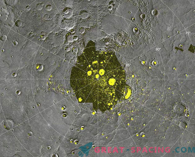 NASA discovered strange hollows on the surface of Mercury